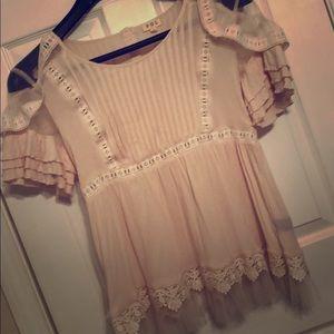 Light pink feminine blouse